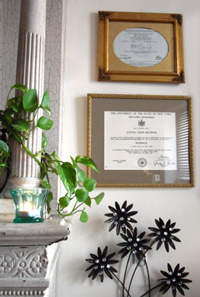 Dayna's diploma